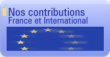 Nos contributions France et International